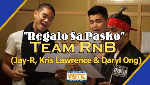 Jay R, Kris Lawrence & Daryl Ong