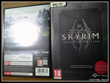 Skyrim 輸入盤 パッケージ