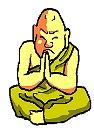 チベット僧