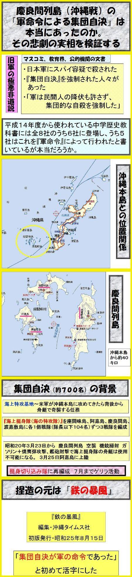 沖縄集団自決の真相1