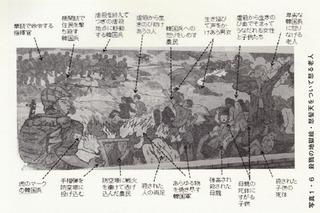 虐殺の壁画2