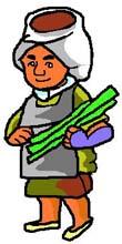サトウキビ労働者