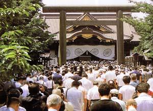 8.15の靖国神社