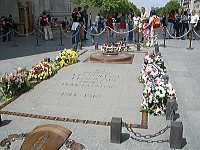 凱旋門の無名戦士の墓
