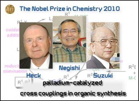ノーベル化学賞の3人