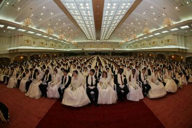 統一教会の合同結婚式