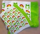 虹と蛙のタオル