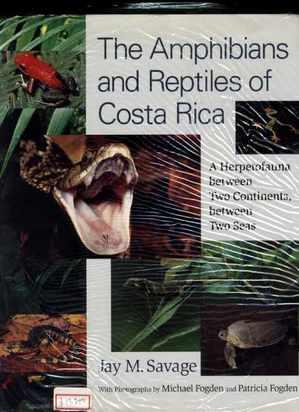コスタリカの両生類と爬虫類大図鑑