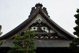 飛騨古川の寺の屋根