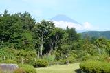 箱根旅行2013・2日目・露天風呂からの富士