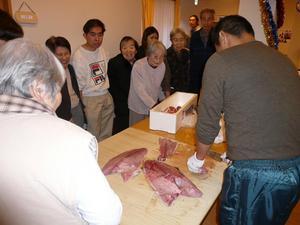 陽風荘2009年12月18日餅つき大会 002