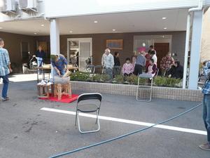 陽風荘2009年12月18日餅つき大会 010