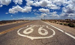 Route-66-shield-on-road-in-California-min
