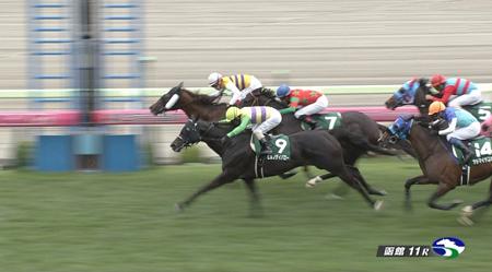 函館スプリントS レース結果