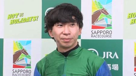 横山和生騎手初重賞制覇