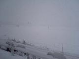 雪なんてレベルじゃねーぞ!