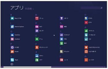 Windows 8.1の「アプリビュー」