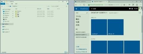 OneDriveを利用したクラウド統合
