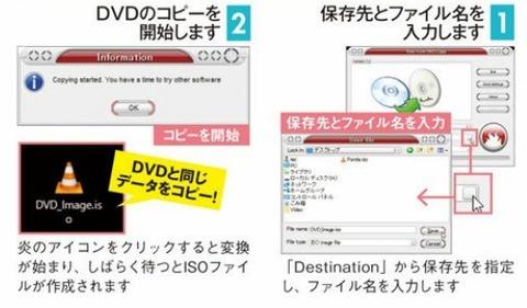 シンプルにDVDをコピーする機能だけを搭載しています