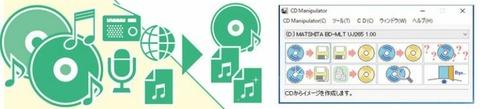 CDからラジオまで視聴環境に合わせてコピー