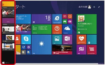 Windows 8.1の「最近使用したアプリ一覧」