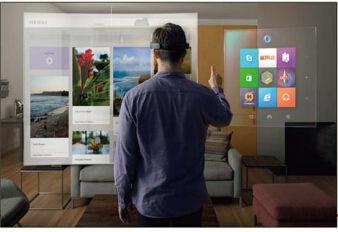 「Microsoft HolloLens」で仮想現実コンピューティング
