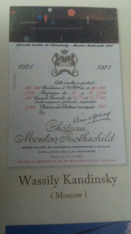kandinsky wine label