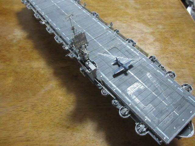 アメリカ海軍護衛空母「ガンベアベイ」 1/350 ハセガワ : 不人気模型の部屋