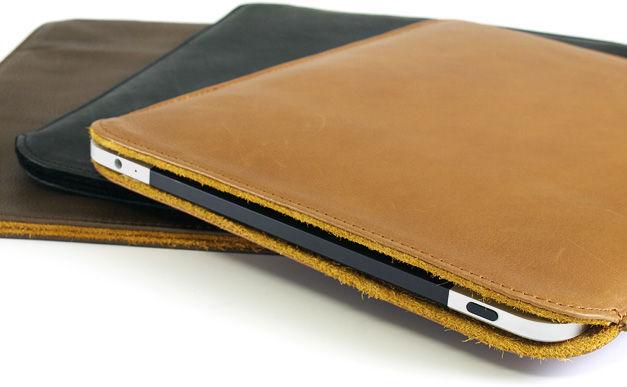 カーフレザーケース for iPad