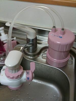 キッツマイクロフィルター 家庭用浄水器 ピュリフリー