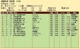 第36S:03月3週 中京記念 成績