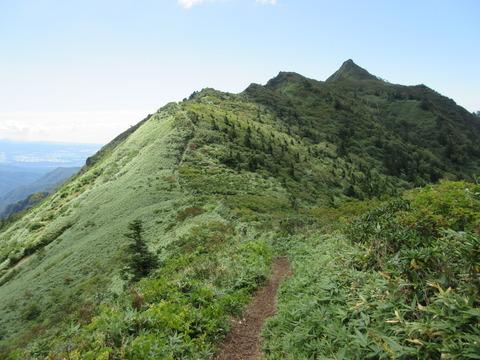 IMG_3806剣ヶ峰への稜線