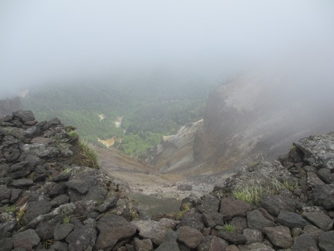 IMG_2858硫黄岳爆裂火口