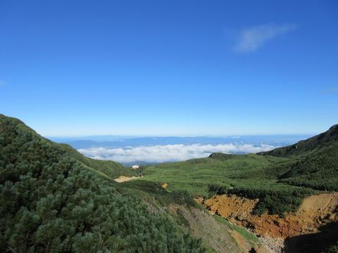 IMG_2228登山道から見る上富良野町