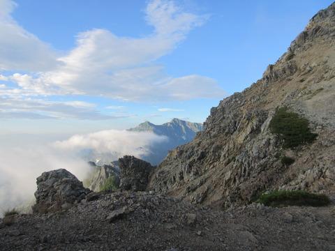IMG_5007五龍岳から見る鹿島槍ヶ岳