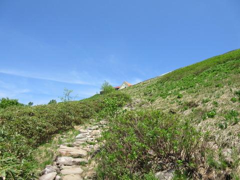 IMG_3444階段の上に種池山荘