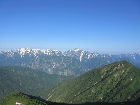 IMG_3494登山道から見る立山と剣岳