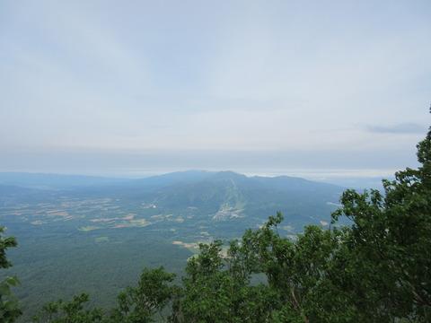 IMG_5971登山道から見るニセコアンヌプリ