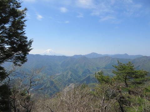 IMG_5845山頂から見る富士山