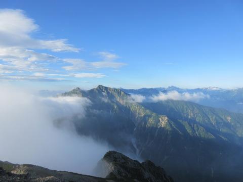 IMG_5013山頂から見る鹿島槍ヶ岳