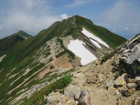 IMG_3461中峰への登る