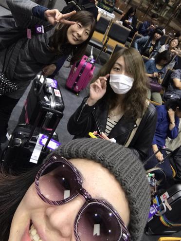 デジール&ティンカーベルの台湾旅行1日目~!小松空港発空の旅からスタート~♪