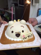 よしださん、神田さんケーキ