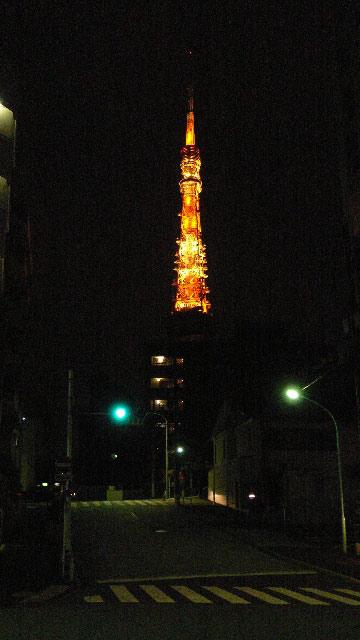 深夜の東京タワー01
