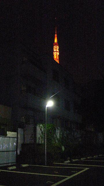 深夜の東京タワー03