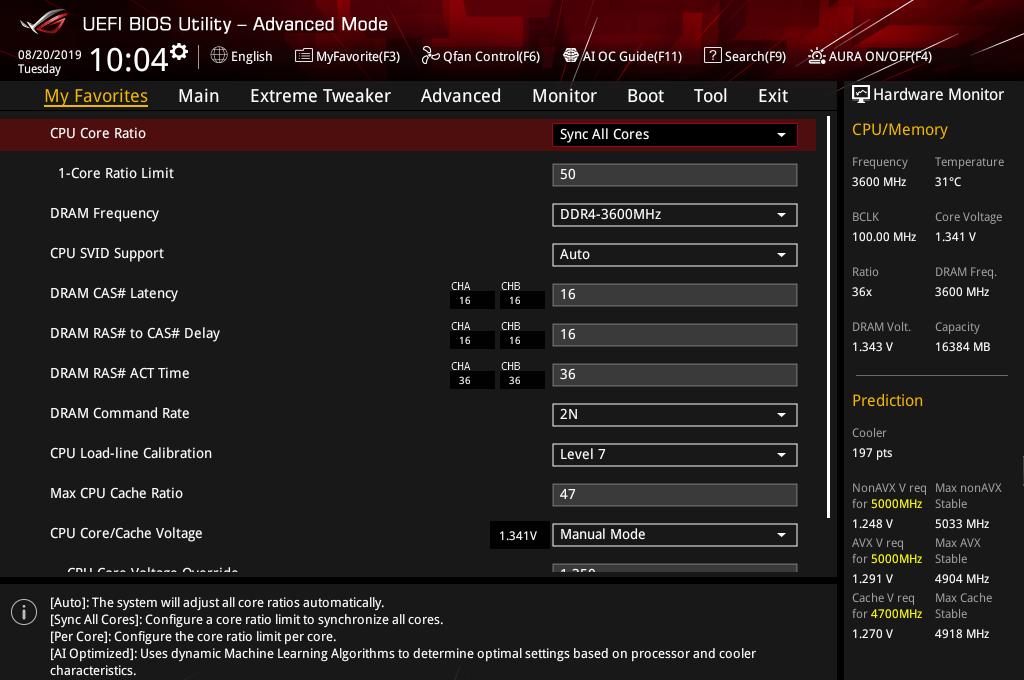 Core i9 9900KF_5GHz-1350mV_BIOS (1)