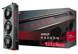 AMD Radeon VII リファレンスモデル