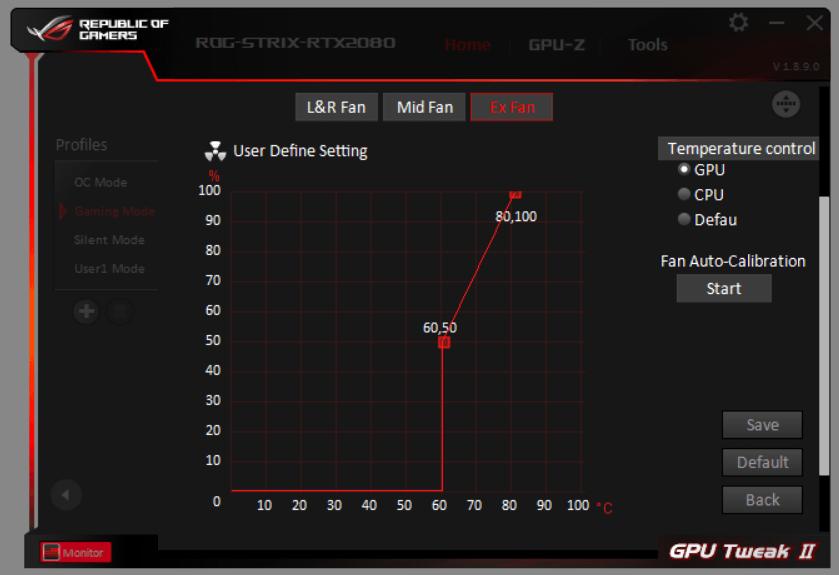 GPU Tweak II_ASUS FanConnect II