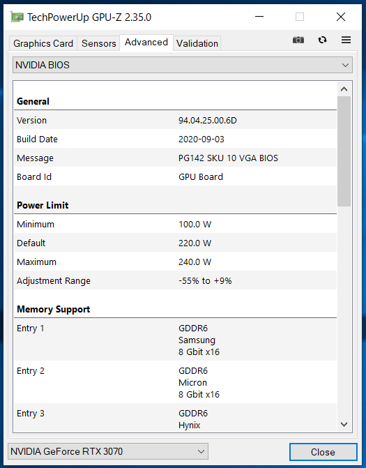 ZOTAC GAMING GeForce RTX 3070 Twin Edge_GPU-Z (3)