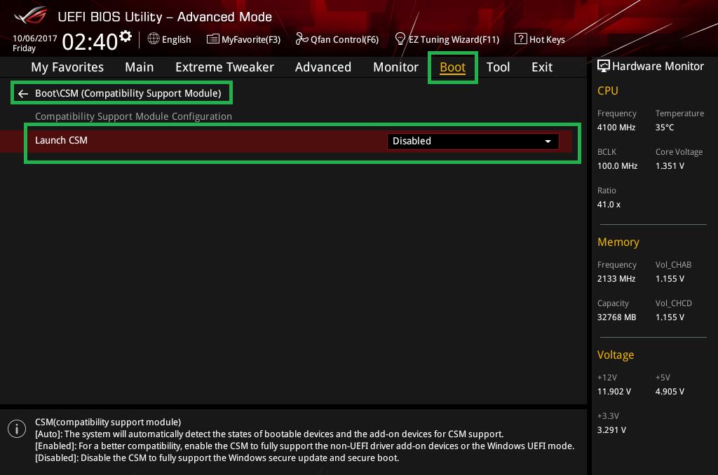 Threadripper NVMe RAID OSインストール_2
